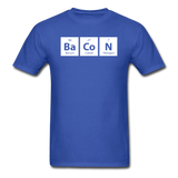 """BaCoN"" - Men's T-Shirt royal blue / S - LabRatGifts - 10"
