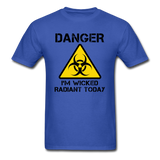 """Danger I'm Wicked Radiant Today"" - Men's T-Shirt royal blue / S - LabRatGifts - 8"