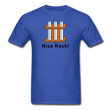 """Nice Rack"" - Men's T-Shirt royal blue / S - LabRatGifts - 7"