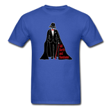 """Tall Darth and Handsome"" - Men's T-Shirt royal blue / S - LabRatGifts - 7"