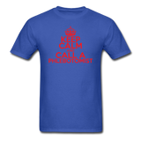 """Keep Calm and Call A Phlebotomist"" (red) - Men's T-Shirt royal blue / S - LabRatGifts - 6"