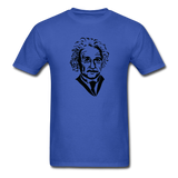 """Albert Einstein"" - Men's T-Shirt royal blue / S - LabRatGifts - 8"