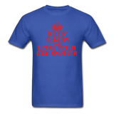 """Keep Calm and Love Your Lab Worker"" (red) - Men's T-Shirt royal blue / S - LabRatGifts - 6"