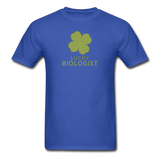 """Lucky Biologist"" - Men's T-Shirt royal blue / S - LabRatGifts - 8"