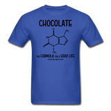 """Chocolate"" - Men's T-Shirt royal blue / S - LabRatGifts - 7"