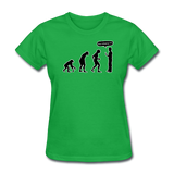 """Stop Following Me"" - Women's T-Shirt bright green / S - LabRatGifts - 3"