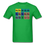 """Lady Gaga Periodic Table"" - Men's T-Shirt bright green / S - LabRatGifts - 8"