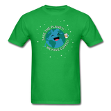 """Save the Planet"" - Men's T-Shirt bright green / S - LabRatGifts - 8"