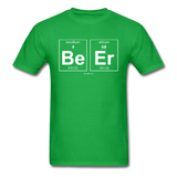 """BeEr"" - Men's T-Shirt bright green / S - LabRatGifts - 8"