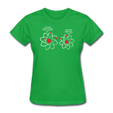 """I've Lost an Electron"" - Women's T-Shirt bright green / S - LabRatGifts - 5"
