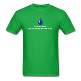 """If You Like Water"" - Men's T-Shirt bright green / S - LabRatGifts - 8"