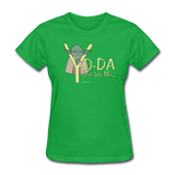 """Yo-Da One for Me"" - Women's T-Shirt bright green / S - LabRatGifts - 8"