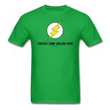 """Faster Than 186,282 MPS"" - Men's T-Shirt bright green / S - LabRatGifts - 8"