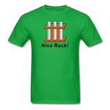 """Nice Rack"" - Men's T-Shirt bright green / S - LabRatGifts - 8"