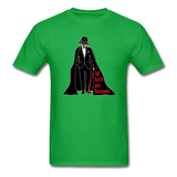 """Tall Darth and Handsome"" - Men's T-Shirt bright green / S - LabRatGifts - 12"