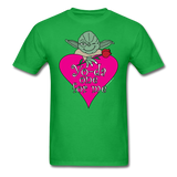 """Yo-da one for me"" - Men's T-Shirt bright green / S - LabRatGifts - 11"