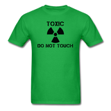"""Toxic Do Not Touch"" - Men's T-Shirt bright green / S - LabRatGifts - 8"