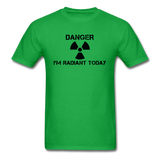 """Danger I'm Radiant Today"" - Men's T-Shirt bright green / S - LabRatGifts - 9"