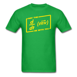 """May the Force Be With You"" - Men's T-Shirt bright green / S - LabRatGifts - 8"