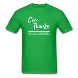 """Give Thanks For Science"" - Men's T-Shirt"