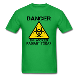 """Danger I'm Wicked Radiant Today"" - Men's T-Shirt bright green / S - LabRatGifts - 9"
