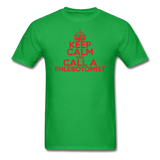 """Keep Calm and Call A Phlebotomist"" (red) - Men's T-Shirt bright green / S - LabRatGifts - 7"