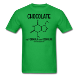 """Chocolate"" - Men's T-Shirt bright green / S - LabRatGifts - 8"