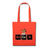 """BaCoN Periodic Table"" - Tote Bag orange / One size - LabRatGifts - 6"