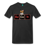 """BaCoN Periodic Table"" - Men's T-Shirt black / S - LabRatGifts - 5"