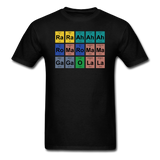 """Lady Gaga Periodic Table"" - Men's T-Shirt black / S - LabRatGifts - 1"