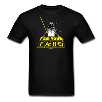 """I Am Your Father"" - Men's T-Shirt black / S - LabRatGifts - 1"