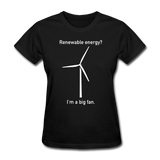 """I'm a Big Fan"" - Women's T-Shirt black / S - LabRatGifts - 8"