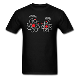 """I've Lost an Electron"" - Men's T-Shirt black / S - LabRatGifts - 8"