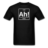 """Ah! The Element of Surprise"" - Men's T-Shirt black / S - LabRatGifts - 12"
