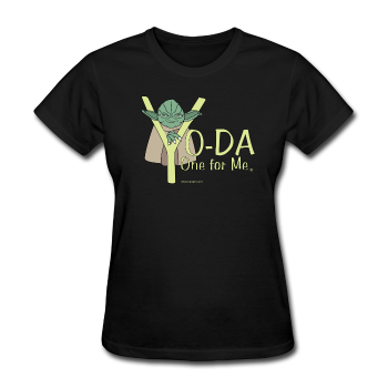 """Yo-Da One for Me"" - Women's T-Shirt black / S - LabRatGifts - 1"