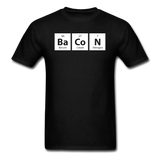 """BaCoN"" - Men's T-Shirt black / S - LabRatGifts - 12"