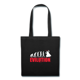 """Evilution"" - Tote Bag black / One size - LabRatGifts - 1"