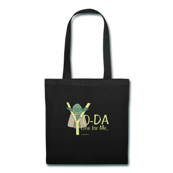 """Yo-Da One for Me"" - Tote Bag black / One size - LabRatGifts - 1"