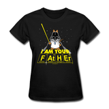 """I Am Your Father"" - Women's T-Shirt black / S - LabRatGifts - 3"