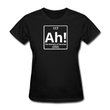 """Ah! The Element of Surprise"" - Women's T-Shirt black / S - LabRatGifts - 2"