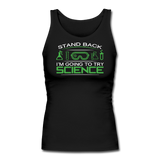 """Stand Back"" - Women's Tank Top black / S - LabRatGifts - 1"