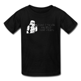 """I had Friends on that Death Star"" - Kids' T-Shirt black / XS - LabRatGifts - 7"