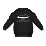 """I Found this Humerus"" - Toddler Sweatshirt black / 2 Toddler - LabRatGifts - 3"
