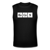 """BaCoN"" - Men's Muscle T-Shirt black / S - LabRatGifts - 1"