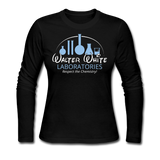 """Walter White Laboratories"" - Women's Long Sleeve T-Shirt black / S - LabRatGifts - 1"