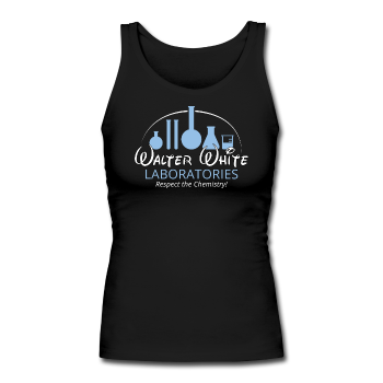 """Walter White Laboratories"" - Women's Tank Top black / S - LabRatGifts - 1"