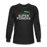 """Forget Lab Safety"" - Men's Long Sleeve T-Shirt black / S - LabRatGifts - 1"