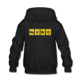 """NaH BrO"" - Kids' Sweatshirt black / S - LabRatGifts - 3"