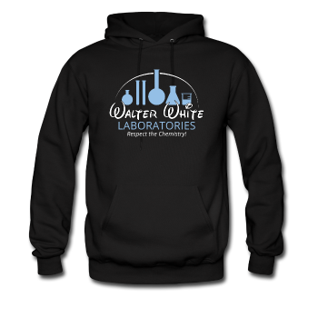"""Walter White Laboratories"" - Men's Sweatshirt black / S - LabRatGifts - 1"
