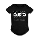 """Heavy Metals"" - Baby Short Sleeve One Piece black / Newborn - LabRatGifts - 1"